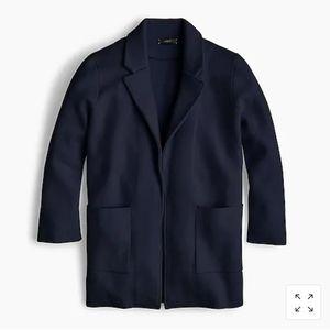 J.Crew Sophie open front sweater- blazer. Size M.